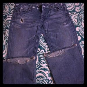 Destroyed 7FAMK jeans